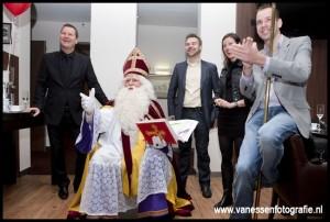 De Sint spreekt...