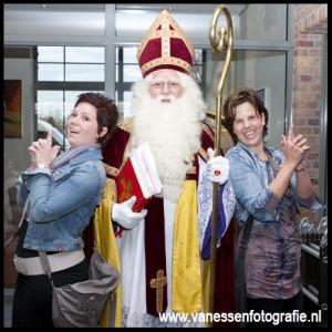 Met de Sint op de foto
